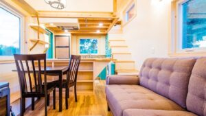 Úžasný nádherný The Laura's 26 'X 10' Wide Tiny Home | Životní Design Pro Malý Dům