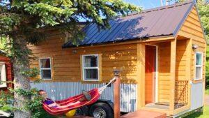 Útulný krásný malý dům na kolech na 20 ft přívěsu | Krásný malý dům