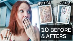10 PŘED A PO POSTAVENÍCH: PŘED MÉHO Drobného domu a změn, které jsem provedl PO