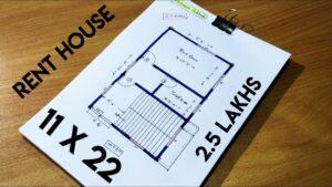 11 X 22 SQFT HOUSE DESIGN II 11X 22 MALÝ DŮM PLÁN II 11 * 22 GHAR KA NAKSHA