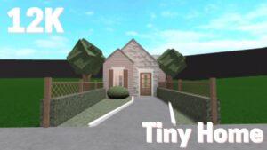 12k Tiny House | Bloxburg Speed Build | TheRealRyGuyy