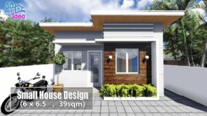 # 20 Design malého domu (6x6,5 m)