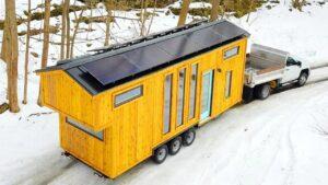 26 Ark Off Grid Malý domeček na kolečkách Willowbee Tiny Homes | Za poznáním malého domu