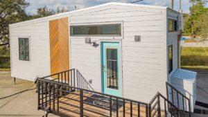28 Lindstrom Tiny House na kolech pohyblivými kořeny Za poznáním malého domu
