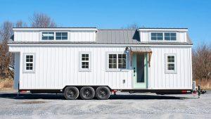 30 ′ statek malý dům na kolech osvobozením malé domovy | Krásný malý dům