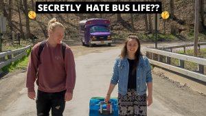 4 MĚSÍČNÍ BYDLENÍ V AUTU | Poučení o životě van se naučilo // malá konverze domu školní autobus