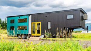 40 moderních minimalistických husí krůček na kolečkách od samitu malých domků | Za poznáním malého domu