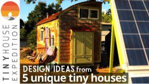 5 jedinečných malých domů! Chytré nápady pro malé prostory