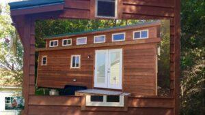 5 v 1 Tiny home series Neuvěřitelně krásný 24ft moderní statek malý dům na kolech