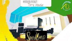 * 500 BUCKS * BUDGET Tiny House Speed Build - Roblox mě přijměte