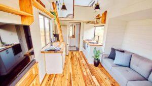 6m Little Sojourner Tiny Home Na kolech od Hauslein Tiny House Co   Za poznáním malého domu