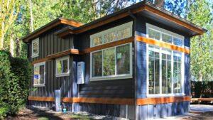 Absolutely Ohromující Salish Park Model Tiny House od domů na západním pobřeží