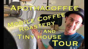 Apothacoffee Mobile Coffee Roastery a Tiny House Tour Wanderboom