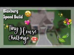 Bloxburg Tiny House Speed Build!