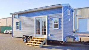 Chata na domech malé budovy pro solární systémy na kolech   Životní Design Pro Malý Dům