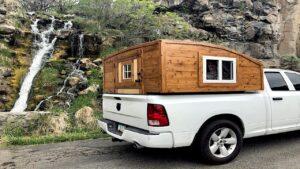 DIY Truck Truck Camper / Drobný dům - část 1 Postýlka Postavit Box