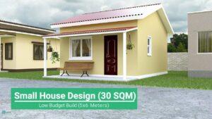 Design malého domu (30 SQM)