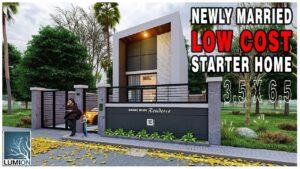 Design malého domu | Nízké náklady na bydlení | Starter Home Design | Malý dům | Designové nápady