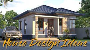 Design malého domu l Malý moderní bungalovový dům