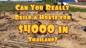 Do 3500 $ za nový malý dům v Thajsku