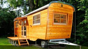 Dokonalý krásný dům Wohlwagen L Tiny Nejkrásnější Drobné domy Design Malý dům velké bydlení