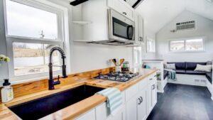 Domino moderním drobným životem Životní Design Pro Malý Dům