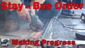 Dosahujeme pokroku v naší DIY MCI Bus Tinyhouse konverzi