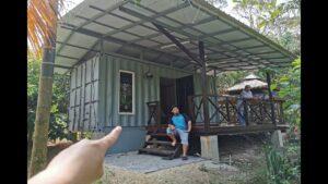 Dusun Tua Drobeček. Inspirasi bagi Rumah Kontena Malajsie a Indonésie. Bydlení velké v malém domě.
