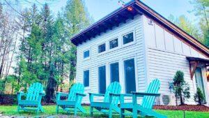 Energeticky efektivní chalupa malého domu ve Vermontu | Krásný malý dům