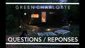 Green Charlotte - OTÁZKY / ODPOVĚDI TINY-HOUSE