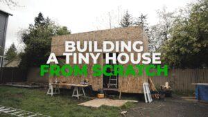 Jak postavit malý dům na kolech (házet zpět) Výroba Mogul # 22