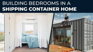 Jak postavit přepravní kontejner domů EP09 Budování ložnic