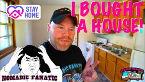Koupil jsem si malý dům se zemí !!!