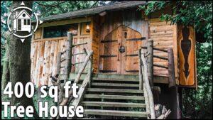 Kouzelný stromový dům pro dospělé, který vypadá jako hobita