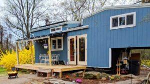 Krásná off-grid 32 & # 39; Malý dům na kolech na prodej   Životní Design Pro Malý Dům