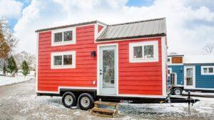 Krásný malý dům Currituck moderním drobným životem Životní Design Pro Malý Dům