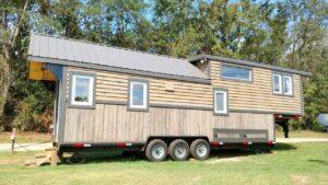 Luxusní 40 Gooseneck malý dům na kolech od kolibřík drobné bydlení Za poznáním malého domu