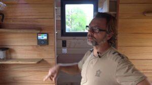 Malý dům autonomní a ekologický: výroba sluneční elektřiny, využití dešťové vody