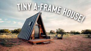 Malý domek s rámem A! Kompletní prohlídka Grid Airbnb