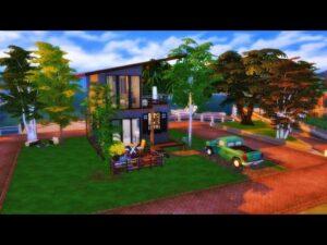 Malý domov u doků / The Sims 4 / NO CC (Cinematic Tour)