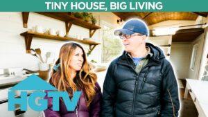 Mini srub na Aljašce Malý dům, velké bydlení | HGTV Německo