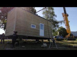 Montovaný malý dům Gadero Koda umístění za 10 minut!