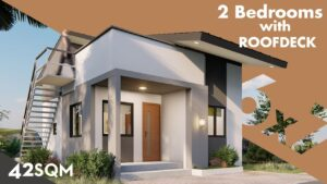 Myšlenky pro malý dům 6x7 (se sklopnou střechou)