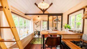 Nádherný okouzlující malý dům La Boheme od Baluchona ve Francii Životní Design Pro Malý Dům