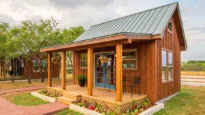 Nejbezprostřednější prázdninový dům v chatce pro 4 osoby | Malý dům velké bydlení