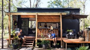 Nejpůsobivější TEEWAH 7,2 Tiny House od Aussie Tiny Houses