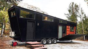 Neuvěřitelný krásný DRAPER Tiny House od Land Ark RV