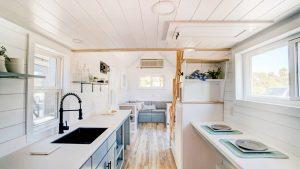Neuvěřitelný krásný dům Ocracoke Tiny House, moderním drobným životem Krásný malý dům