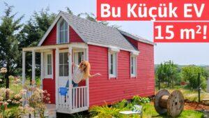 Neuvěřitelný malý dům o velikosti 15 m² !! Tekerlekli MALÝ DOM S SURVIVOR Track