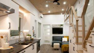 Neuvěřitelně krásný CHARME Malý domeček na kolečkách od Minimaliste Houses